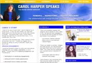 CAROL HARPER SPEAKS, MOTIVATIONAL SPEAKER & AUTHOR