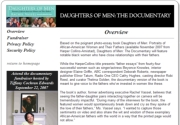 DAUGHTERS OF MEN: THE DOCUMENTARY
